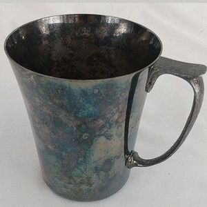 Antique Arts&Crafts Deco PSL Sheffield Tankard Mug